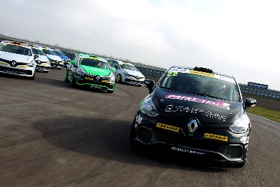 VA-VA-VOOM! NEW RENAULT UK CLIO CUP RACE SEASON STARTS THIS EASTER WEEKEND AT KENT'S WORLD-FAMOUS BRANDS HATCH CIRCUIT