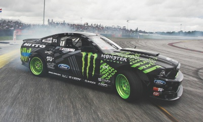 There's No Off-Season for Vaughn Gittin Jr. As He Leads China's Drifting Craze in Ford Mustang
