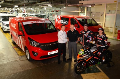 Vauxhall Commercial Vehicles Announces Partnership With MCE British Superbike Championship