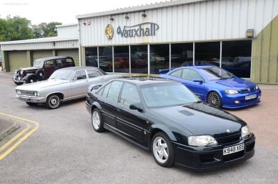 Vauxhall's 'Big Guns' Storm NEC Classic Motor Show