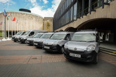 VAUXHALL VANS ARE TOP CHOICE FOR NEWCASTLE CITY COUNCIL