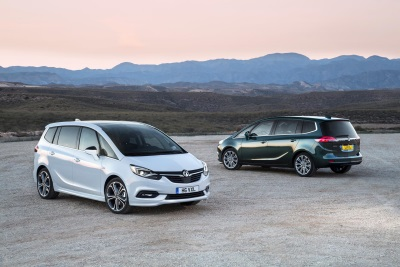 VAUXHALL ANNOUNCES PRICING FOR NEW ZAFIRA TOURER