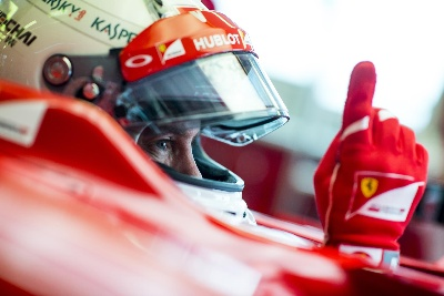 Sebastian gets down to business in Fiorano