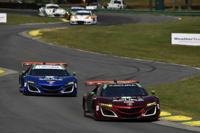 Michael Shank Racing Acura's Knocked Out In Virginia