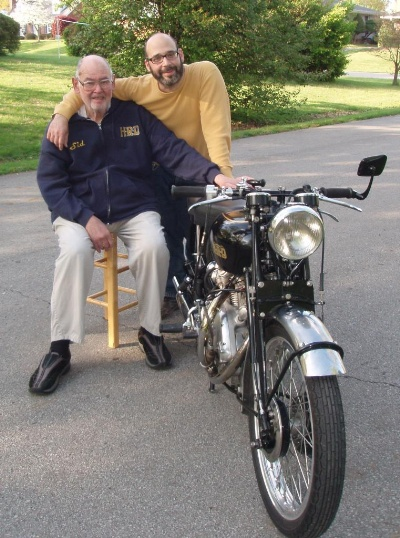 Award To Honor The Life Of Vincent Motorcycle Guru 'Big Sid' Biberman At Barrington Concours D'Elegance
