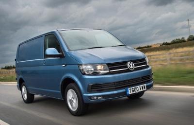 Hat-Trick Of Trophies For Volkswagen At 2017 Business Van Awards