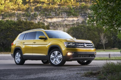 Volkswagen Announces Pricing Of Chattanooga-Built 2018 Atlas, Starting At $30,500