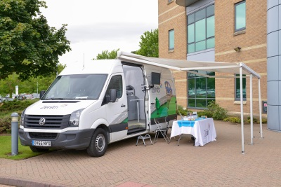VOLKSWAGEN CRAFTER HELPS ZENITH STAND OUT FROM THE ROADSHOW CROWD