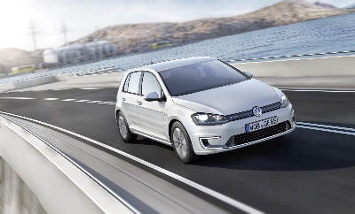VOLKSWAGEN E-GOLF TO MAKE NORTH AMERICAN DEBUT AT THE LOS ANGELES AUTO SHOW