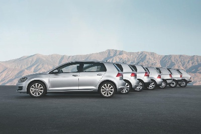 VOLKSWAGEN CELEBRATES 40 YEARS OF THE GOLF AT THE NEW YORK AUTO SHOW
