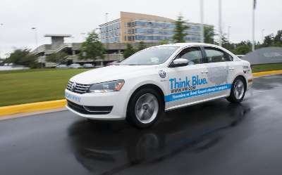 Volkswagen Passat Tdi® Clean Diesel Attempts To Set World Record For Fuel Economy Around The Lower 48 U.S. States