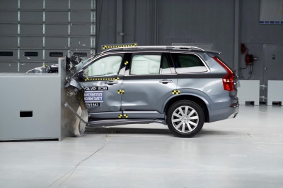 VOLVO SCORES THE MOST IIHS TOP SAFETY PICK+ AWARDS AMONG LUXURY AUTOMAKERS