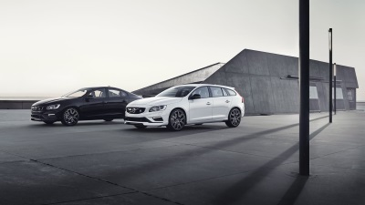 The Updated Volvo S60 And V60 Polestar With Carbon Fibre Aerodynamic Enhancements, Increasing Downforce By 30%