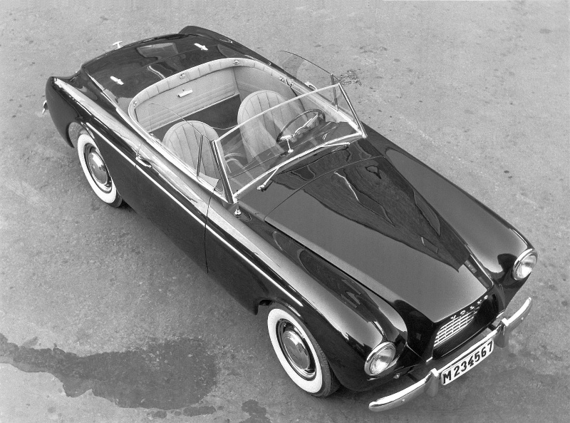 A RARE VOLVO CONVERTIBLE TURNS 60 YEARS: THE VOLVO SPORT