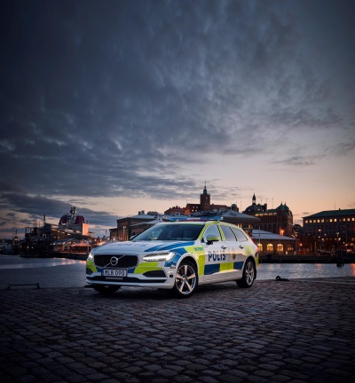 SWEDISH POLICE FIRST TO USE V90 ESTATE AS A POLICE CAR – OTHER COUNTRIES ALSO TARGETED