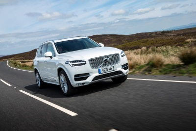 VOLVO XC90 WINS AUTO EXPRESS 'BEST LARGE SUV' AWARD FOR THE SECOND YEAR RUNNING