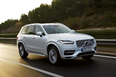 VOLVO ANNOUNCES PRICING OF ALL-NEW XC90 T8 TWIN ENGINE PLUG-IN ELECTRIC HYBRID