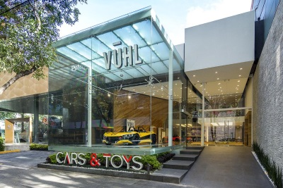 VUHL CONTINUES SUCCESSFUL 2016 WITH ALL-NEW FLAGSHIP SHOWROOM AND COMPANY HQ IN MEXICO CITY