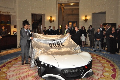 The Vuhl 05 Supercar – Exclusively Unveiled At The Royal Automobile Club In London Today