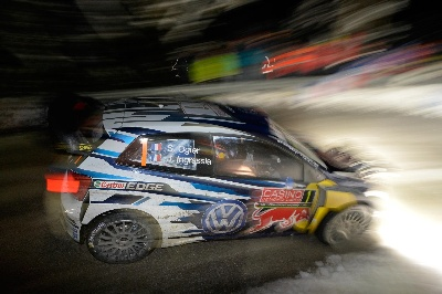 VOLKSWAGEN OFF TO A SUCCESSFUL START ON OPENING STAGES OF THE 'MONTE'