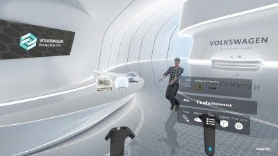 Volkswagen Group Is Backing Virtual Reality Solutions For Interactive Collaboration In Production & Logistics