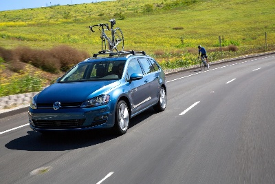 VOLKSWAGEN ANNOUNCES 2015 GOLF SPORTWAGEN AS THE OFFICIAL VEHICLE OF USA CYCLING