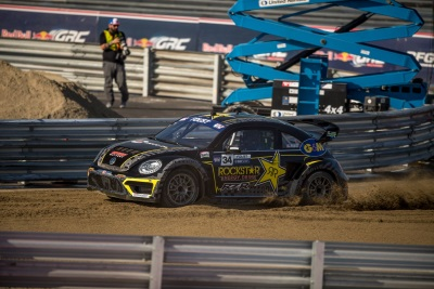 Another 1-2 Finish For Volkswagen Andretti Rallycross Clinches 2017 Red Bull Global Rallycross Driver's Championship