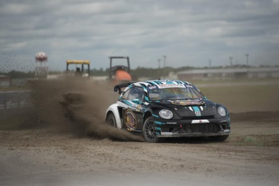 VOLKSWAGEN ANDRETTI RALLYCROSS CLAIMS SOLE VICTORY IN ABBREVIATED RED BULL GLOBAL RALLYCROSS EVENT AT MCAS NEW RIVER