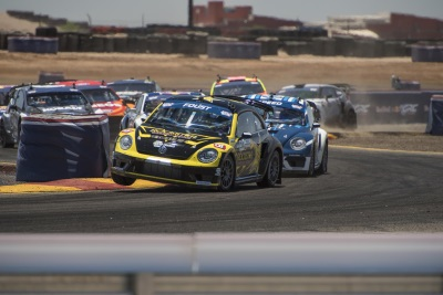 VOLKSWAGEN ANDRETTI RALLYCROSS HOPES TO CONTINUE WINNING FORM IN DALLAS