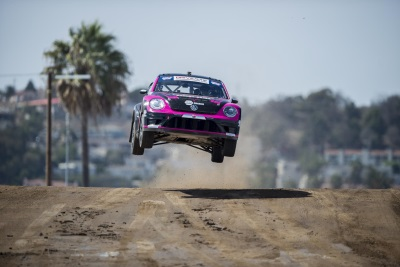VOLKSWAGEN ANDRETTI RALLYCROSS SECURES CHAMPIONSHIP LOCKOUT IN LOS ANGELES
