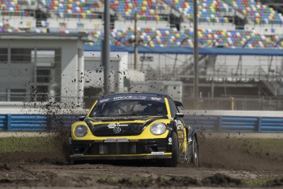 DOUBLE PODIUM REDEMPTION FOR VOLKSWAGEN ANDRETTI RALLYCROSS ON SUNDAY IN DAYTONA