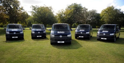 Volkswagen Improves Energy Efficiency For Baxi With Transporter Vans Deal