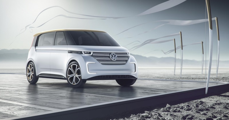 NYIAS 2016: ELECTRIC VOLKSWAGEN BUDD-e CONCEPT MAKES U.S. AUTO SHOW DEBUT