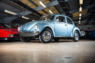 'TIME-WARP' LOVE BUG READY FOR NEW OWNER AFTER 42 YEARS