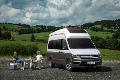 Volkswagen To Present Crafter-Based California XXL Motorhome Concept At Caravan Salon