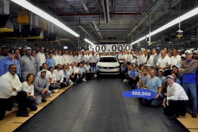 VOLKSWAGEN CHATTANOOGA BUILDS 500,000TH PASSAT
