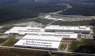 VOLKSWAGEN CHATTANOOGA ANNUAL ECONOMIC IMPACT ON TENNESSEE: $643 MILLION