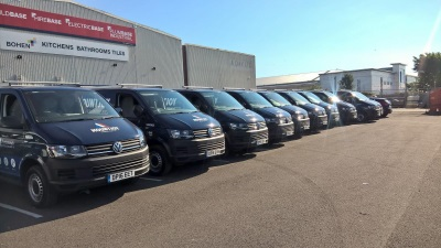 VOLKSWAGEN COMMERCIAL VEHICLES SUPPLIES LEADING BUILDING AND MAINTENANCE PROVIDER WITH 130 VEHICLES