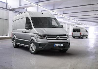 Volkswagen Opens Order Books For All-New Crafter Panel Van