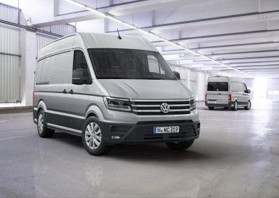 THE NEW CRAFTER IS INTERNATIONAL VAN OF THE YEAR 2017
