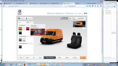 Craft Your New Crafter: Website Configurator Updated For Latest Volkswagen Models