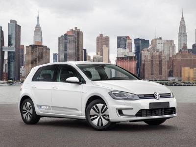 Volkswagen E-Golf Named 2017 AAA Green Car Guide'S Top Green Vehicle In Compact Car Category