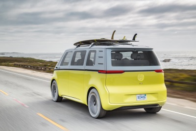 Volkswagen Takes Bold Decision To Put I.D. Buzz Electric Concept Car Into Production