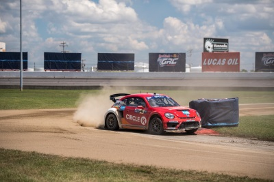 One-Two Sweep For Volkswagen Andretti Rallycross In Indianapolis Home Race