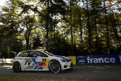 POWERED BY VOLKSWAGEN – LATVALA/ANTTILA CLAIM HISTORIC WRC VICTORY IN FRANCE