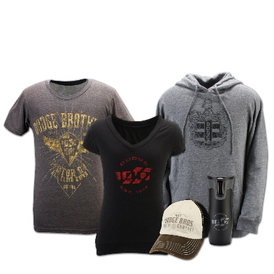 JUST IN TIME FOR THE HOLIDAY SHOPPING SEASON, DODGE BRAND INTRODUCES NEW 100TH ANNIVERSARY MERCHANDISE