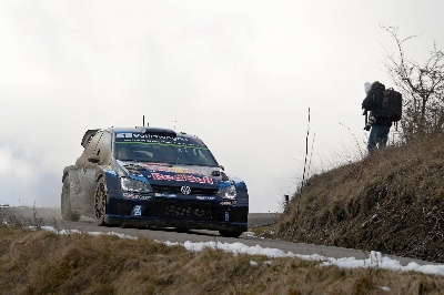VOLKSWAGEN ONE-TWO-THREE – OGIER LEADS LATVALA AND MIKKELSEN AT THE 'MONTE'