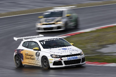 AFTER WINNING THE TITLE IN THE VOLKSWAGEN SCIROCCO R-CUP AT TURBO SPEED: 'ICEMAN' PEPPER DREAMS OF A CAREER IN THE DTM