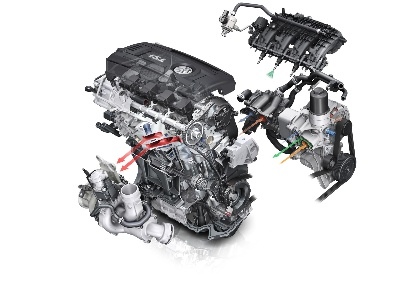 VOLKSWAGEN'S ALL-NEW TURBOCHARGED 1.8-LITER ENGINE NAMED TO '2014 WARD'S 10 BEST ENGINES' LIST