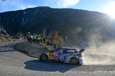 ONE-TWO-THREE! VOLKSWAGEN MAKES HISTORY AT THE RALLY MONTE CARLO